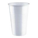 PAPSTAR 100 Einweg-Trinkbecher Kunststoff weiß 0,2l