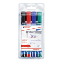 4 edding Flipchart-Marker 380 farbsortiert