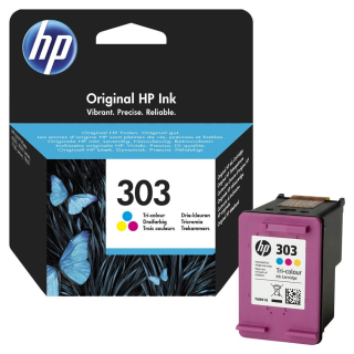 Original Druckerpatrone HP 303 Color - T6N01AE