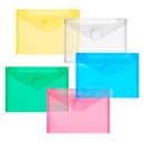 10 FolderSys Umlauftaschen farbsortiert glatt DIN A6
