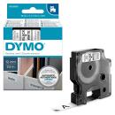 DYMO Beschriftungsband D1 schwarz auf weiß 12 mm -...