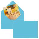 25 MAILmedia Briefumschläge blau EcoRainbow B6 ohne...