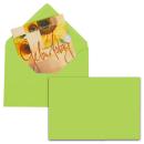 25 MAILmedia Briefumschläge leuchtend grün...