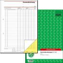 SIGEL Kassenabrechnung SD006, DIN A4, 2x 50 Blatt