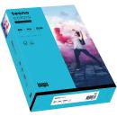 500 Blatt blaues Kopierpapier A4 80g/m²