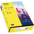 250 Blatt gelbes Kopierpapier A4 160g/m²
