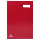 Exacompta Unterschriftenmappe mit 20 Fächern in rot