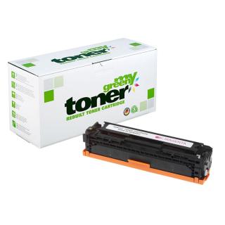my green Toner zu HP 731M / 6270B002 / CF213A / 131A Magenta - ca. 1800 Seiten