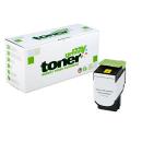 my green Toner zu Lexmark 80C2XY0 / 802XY Gelb - ca. 4000...