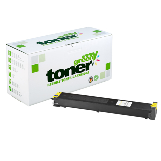 Alternativ Toner zu Sharp MX-27GTYA gelb - 15000 S. my green