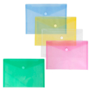 10 FolderSys Umlauftaschen farbsortiert glatt DIN A4