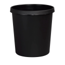 helit Papierkorb 18,0 l schwarz