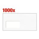 1.000 BONG Kuvertierhüllen KuvertierStar DIN lang+...