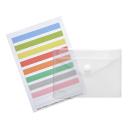 10 FolderSys Umlauftaschen mit Index matt und transparent