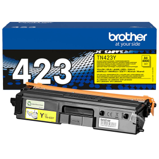 Original Toner brother TN-423 Gelb - ca. 4000 Seiten