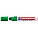 Permanentmarker edding 850 grün 5 - 16mm