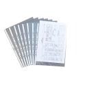 10 DURABLE Prospekthüllen DIN A3 transparent genarbt