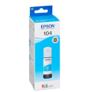Original Tintenflasche Epson 104 / T00P24 cyan