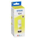 Original Tintenflasche Epson 104 / T00P44 gelb