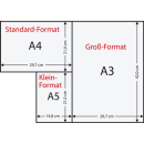 125 Blatt Kopierpapier Clairalfa 250 g/m² weiß...