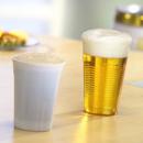 PAPSTAR 100 Einweg-Trinkbecher Kunststoff klar 0,4 l