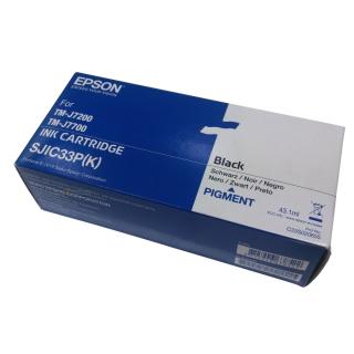 Original Druckerpatrone Epson C33S020655 / SJIC33P(K) schwarz