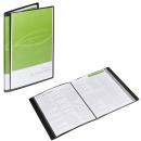 FolderSys Sichtbuch schwarz mit 30 Hüllen DIN A4