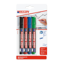 4 edding 360 Whiteboard-Marker farbsortiert 1,5 - 3,0 mm