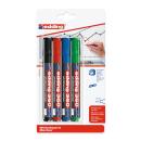 4 edding 360 Whiteboard-Marker farbsortiert 1,5 - 3,0 mm