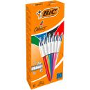 12 BIC 4-Farben-Kugelschreiber 4 Colours Shine farbsortiert