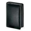 bind Terminplaner Manager DIN A6 Leder schwarz