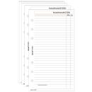 50 bind Ringbuch-Ergänzungsblätter Notizen DIN A6