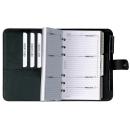 bind Terminplaner Standard DIN A6 Lederimitat schwarz