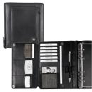 bind Planer Manager Plus DIN A5 Leder schwarz