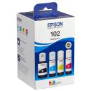 Original Tintenflaschen Epson 102 / T03R64 im Kombipack