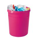 HAN Grip Papierkorb 18,0 l pink Kunststoff