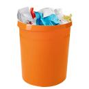HAN Grip Papierkorb 18,0 l orange Kunststoff