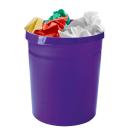 HAN Grip Papierkorb 18,0 l lila Kunststoff