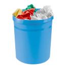 HAN Grip Papierkorb 18,0 l hellblau Kunststoff